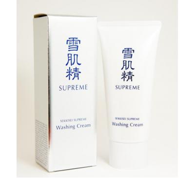 Kose Sekkisei Supreme Washing Cream - Sữa Rửa Mặt Làm Trắng Da Và Trị Nám - Made in Japan