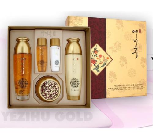 YEZIHU GOLD SKINCARE SET - Bộ Mỹ Phẩm Chăm Sóc Da Có Chứa Vàng - Made in Korea