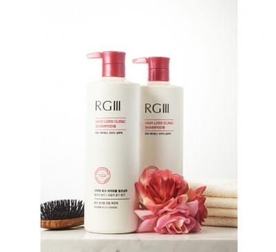 Red Ginseng RG III Shampoo - Dầu Gội Đầu Hồng Sâm Chuyên Trị Rụng Tóc - 3 Bottles - Made in Korea