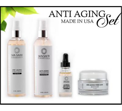Skin Saver Anti-Aging Set - Bộ Sản Phẩm Chăm Sóc Da Chống Lão Hóa - Made in USA