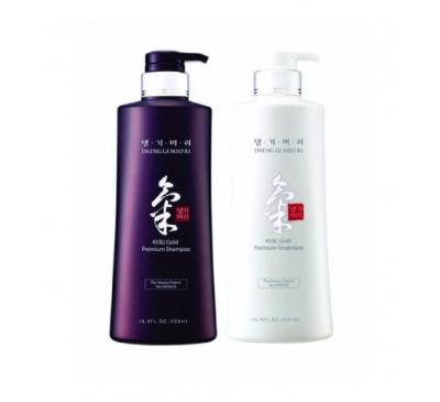 KiGold Premium Shampoo & Conditioner - Dầu Gội Đầu Và Dầu Xả Hồng Sâm - Made in Korea