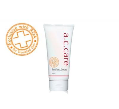 A.C. Care Bee Foam Cleanser - Dòng Sản Phẩm Trị Mụn - Sữa Rửa Mặt  - Made in Korea