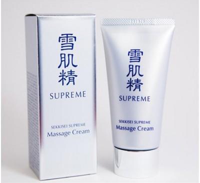 Kose Sekkisei Massage Cream - Kem Massage Mặt Facial Làm Trắng Da Và Trị Nám - Made in Japan