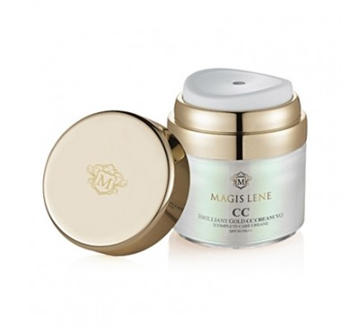 Magis Lene CC Gold Cream - Kem Dưỡng Da 4 Trong 1 Với Tinh Chất Vàng 24K - Made in Korea