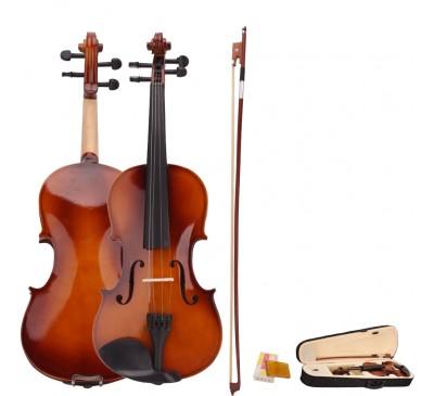 Full Size Acoustic Violin Set