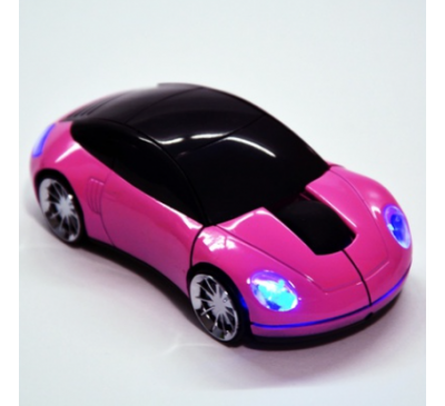Wireless Optical 3D Car Shaped With LED Light Mouse