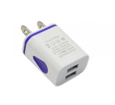 2 Ports LED Light Universal USB Wall Charger