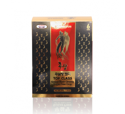 Premium Geumsam Black Ginseng Candy Sugar Free - Kẹo Nhân Sâm Đen Không Đường - Made in Korea