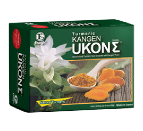 Kangen Ukon Sigma - Viên Nén Tinh Dầu Nghệ 100% Organic - 100 Capsules - Made in Japan