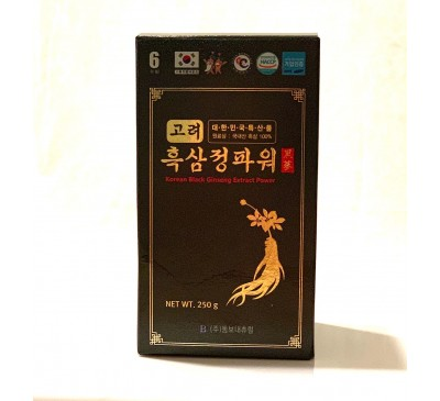 Cao Hắc Sâm Cô Đặc - Black Ginseng Extract Power - 1 hộp x 250g - Made in Korea