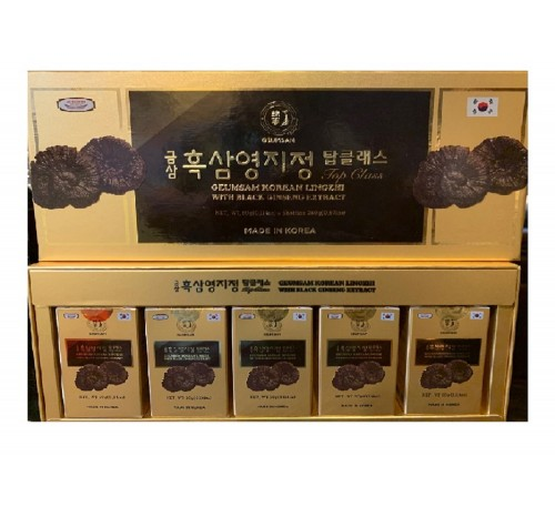 Geumsam Top Class Lingzhi With Black Ginseng Extract - Cao Cốt Hắc Sâm Nấm Linh Chi Thượng Hạng- Made in Korea