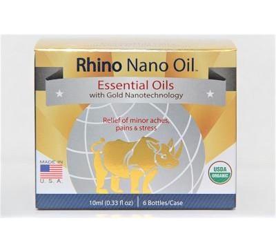 Rhino Nano Oil - Dầu Nóng Rhino Công Nghệ Nano Siêu Nhỏ - 6 chai/hộp - Made in USA