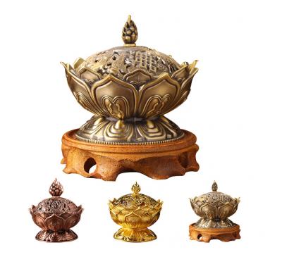 Lotus Incense Aromatherapy Smoke Censer Home Decoration