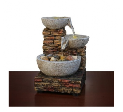 Waterfall Relaxation Feng Shui Water Sound For Working Desk Decoration