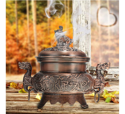 Buddhism Incense Aromatherapy Burner Censer Home Decoration
