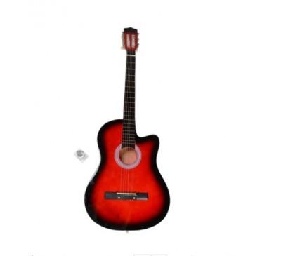 38 Inch Cutaway Acoustic Guitar