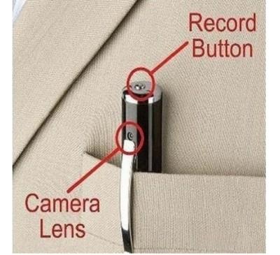 Hidden Camera Video Record Micro SD Card Spy Pen