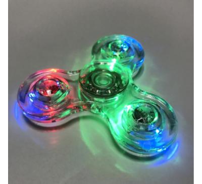 LED Light Transparent Mini Hand Spinner
