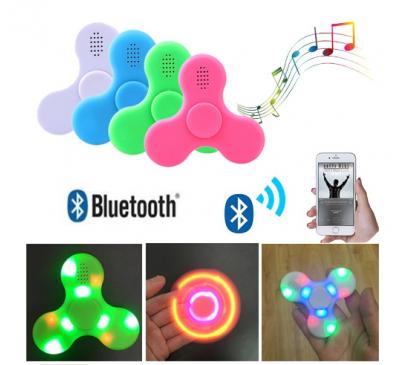 Bluetooth Speaker With LED Light Mini Hand Spinner