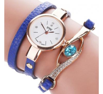 Mode Casual Analogiques Quartz & Femmes Rhinestone Montre Bracelet Watch