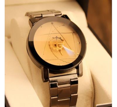 Fashion Watch Stainless Steel Man Quartz Analog Wristwatches Beautiful
